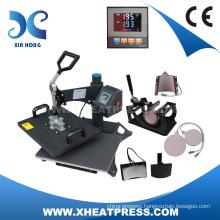2015 Combo Heat Press Machine 6IN1 Combo Heat Transfer Machine Sublimation Printer HP6IN1