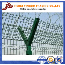 New Designed Style Galvanized Steel Wire Mesh Airport Fence