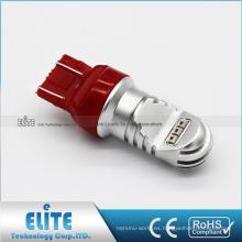 Nueva Pure White 7443 3157 750LM 30W 12V-24V LED Lámpara de señal F1 Freno de freno Bombillas