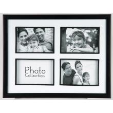 4 Öffnung 6 x 4 Zoll-Familie Collage-Rahmen