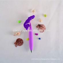 Заказной рекламы мягкий ПВХ шариковая ручка принтер