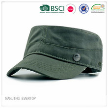 Men Hot Sale Blank Design Military Cap