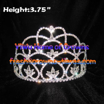Klar Crystal Diamond Princess Pageant Kronen