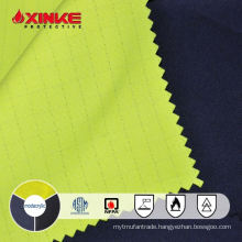 esd Modacrylic cotton fr twill fabric