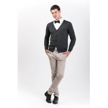 Men′s Fashion Cashmere Blend Sweater 18brssm006