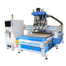 Automatic CNC Cabinet Door Furniture Making Machine for Plexiglass Wood and Aluminum