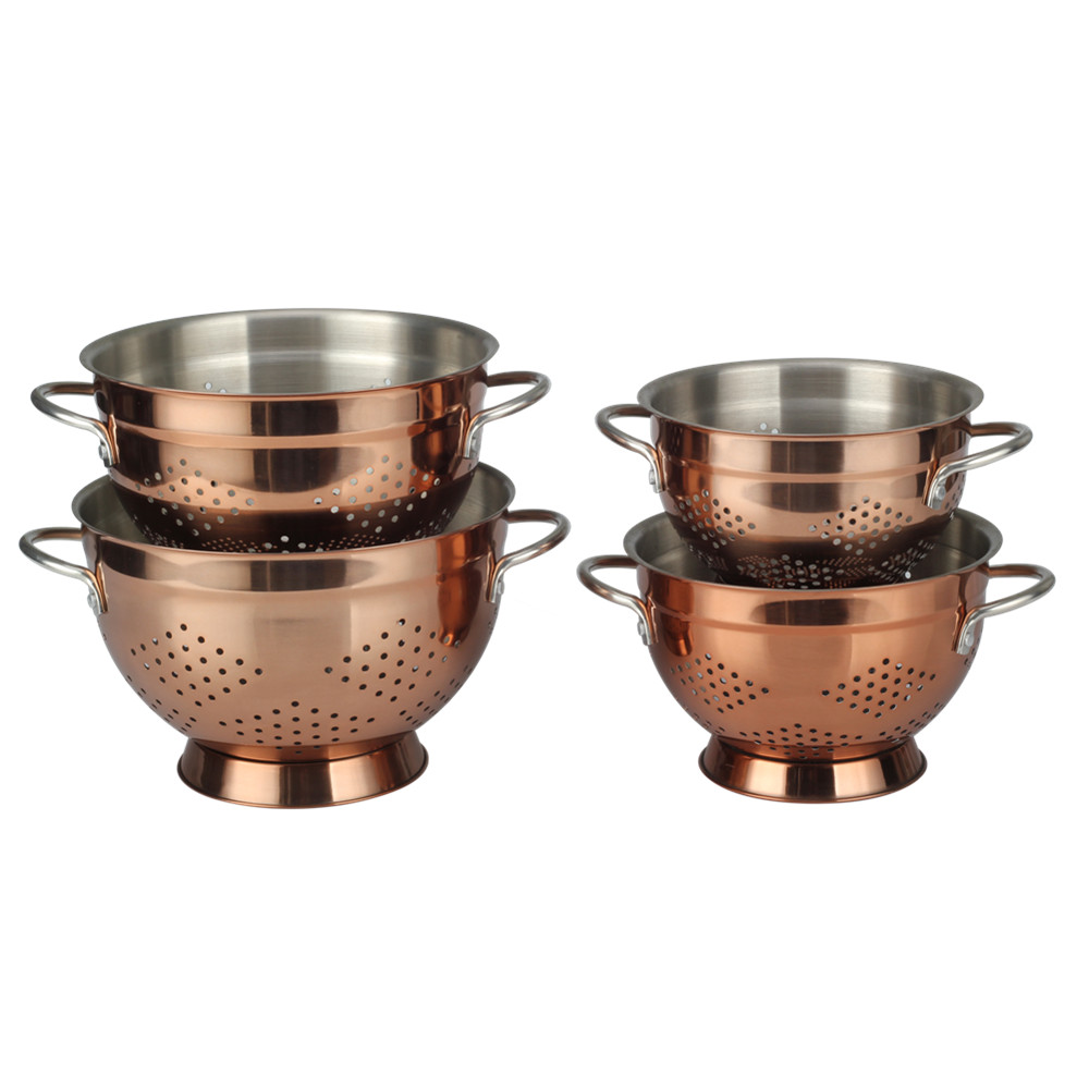 Exquisite Craftsmanship Copper Colander
