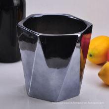 Unit Shape Hexagon Candle Vase for Home Decoration