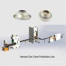 Aerosol kann Kuppelbodendeckelherstellungsmaschine