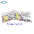 OEM Fish Bait Plastic Ziplock Packaging Bag / Fishing Lures Customzied Package Bag