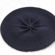 Вязаная шапка(вязаная шапка и печать beanie шляпа) чистого кашемира вязать шляпу