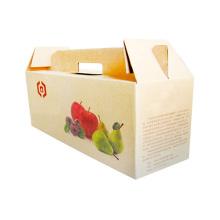 Benutzerdefinierte billige Verpackung Pappschachtel für Früchte