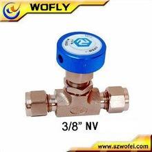 Válvula de agulha industrial de alta pressão