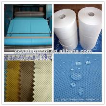 Tissu non tissé en polypropylène soudé par filage