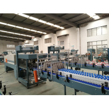 Tray Shrink Film Wrapping Machine for Bottles