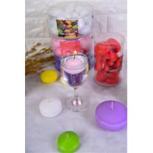 Bougies flottantes de boule de Noël de vente chaude