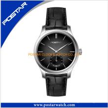 Wtch de los hombres del precio de fábrica del reloj de cuarzo resistente de agua de moda