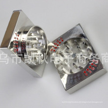 Zink-Metall Hand Crusher Spice Tobacco Grinder