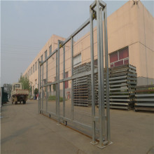 Hot Dipped Gegalvaniseerde Metalen Yard Fence Gate