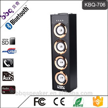 Best selling Karaoke speaker Bluetooth singing audio USB/TF/Mic input KBQ-706
