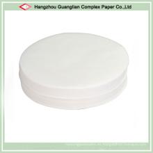 Círculos de papel personalizados para hornear pergamino para forro redondo Pan Pan
