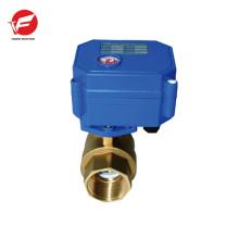 Válvula de control automático de flujo de aire automático de acero inoxidable