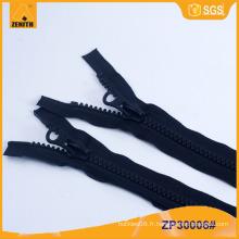 Fermeture à glissière en plastique moulé à deux voies ZP30006