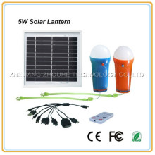 portable solar energy lamp solar light lantern with mobile charger