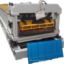 Glazed tile roll forming machine_step tile making machine for Nigeria