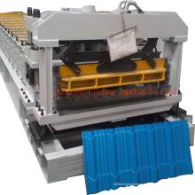 Telha vitrificada rolo formando telha de machine_step que faz a máquina para a Nigéria
