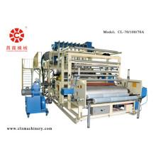 Machine de film d'emballage étirable coulé co-extrudé