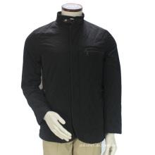Wholesale New Black Gepolsterte Baumwolle Nach Maß Männer Jacke Winter