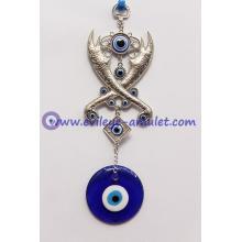 Greek Evil Eye 2 Scimitar Wall Decoration Evil Eye Beads