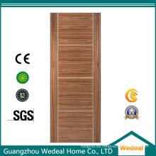 Fabricación de puertas de chapa de madera maciza de alta calidad para hoteles