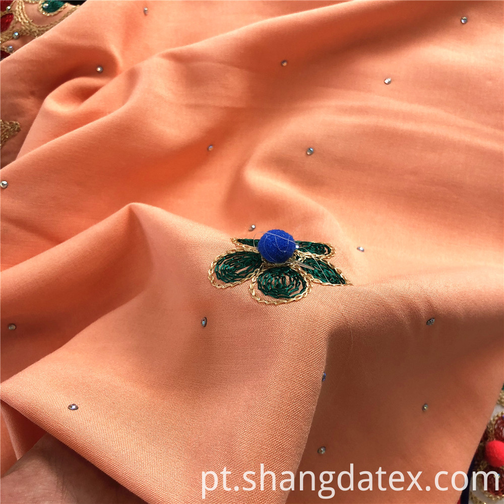 Nice Rayon Challie With Embroidery