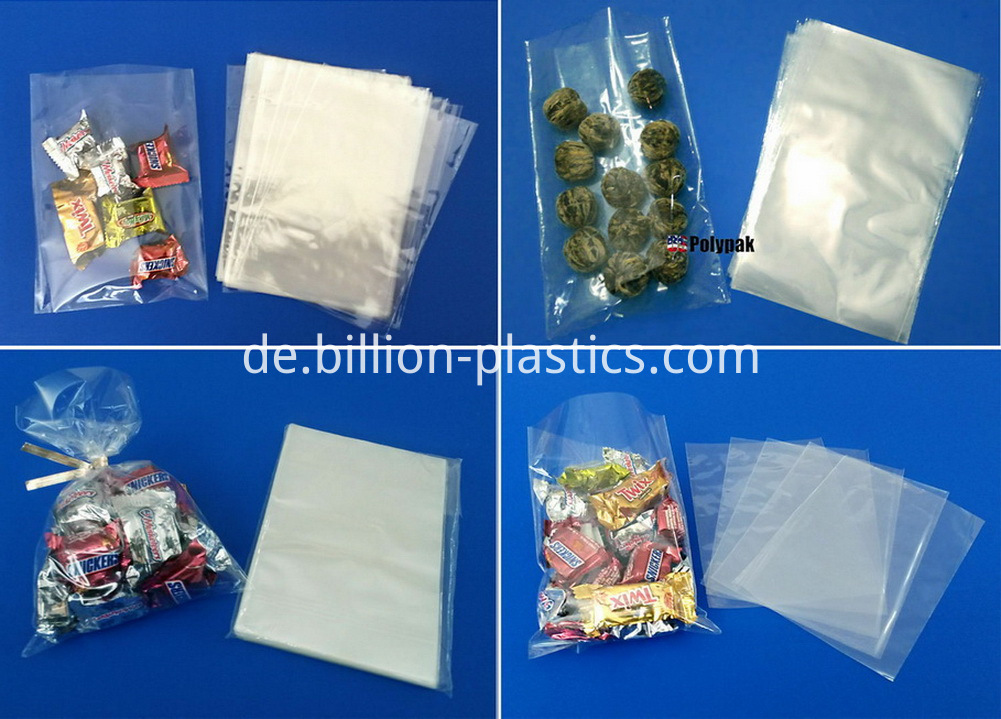 resealable clear plastic bags