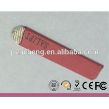 Agujas al por mayor Tattoo21 U tipo ceja Microblading para la pluma manual permanente del maquillaje