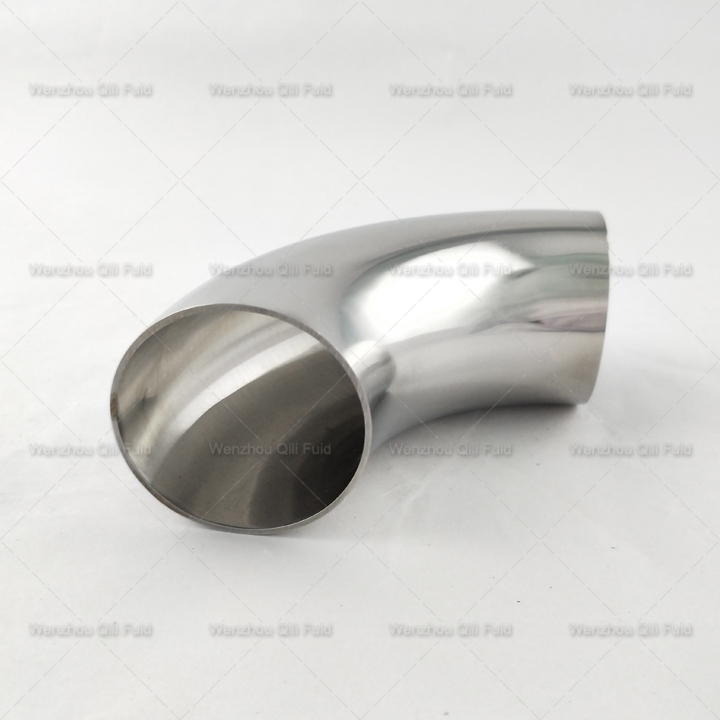 sanitary stainless steel 45degree elbow x7