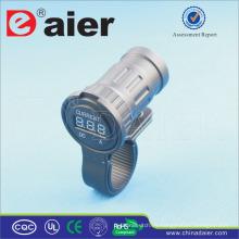 Daier Marine / Car Charging Power Digital 12V Ammeter Display Socket