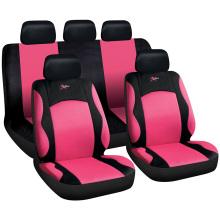 Capas de assento de carro de tecido sanduíche bordado para mulheres