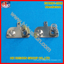 Metal Fabrication Various Battery Pieces with Spring, Battery Shrapnel (HS-BA-0013)