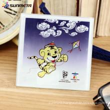 China Original Manufacturer blank sublimation glass coasters