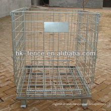 Hot Dipped Galvanized Stackable Wire Mesh Container