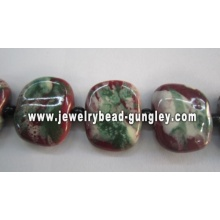 Beautiful Square Ceramic beads