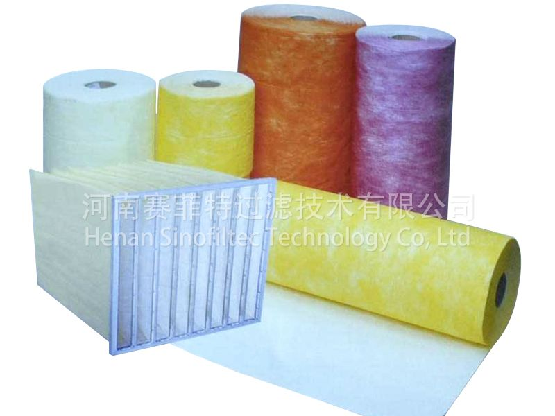 F5-F6 Air Filter Glassfiber Material