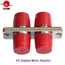 Adaptador FC Padrão de Fibra Óptica Duplex FC