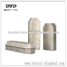 Блок для шлифования алмазных фрикционных металлов для бетона