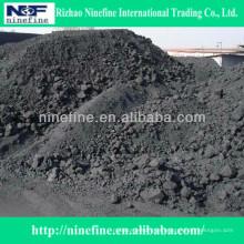 Coque de petróleo sin procesar del sulfuro bajo de alta calidad de 0-10m m