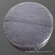 200 250 300 Micron Hastelloy Knitted Separates Wire Mesh With High Separation Efficiency