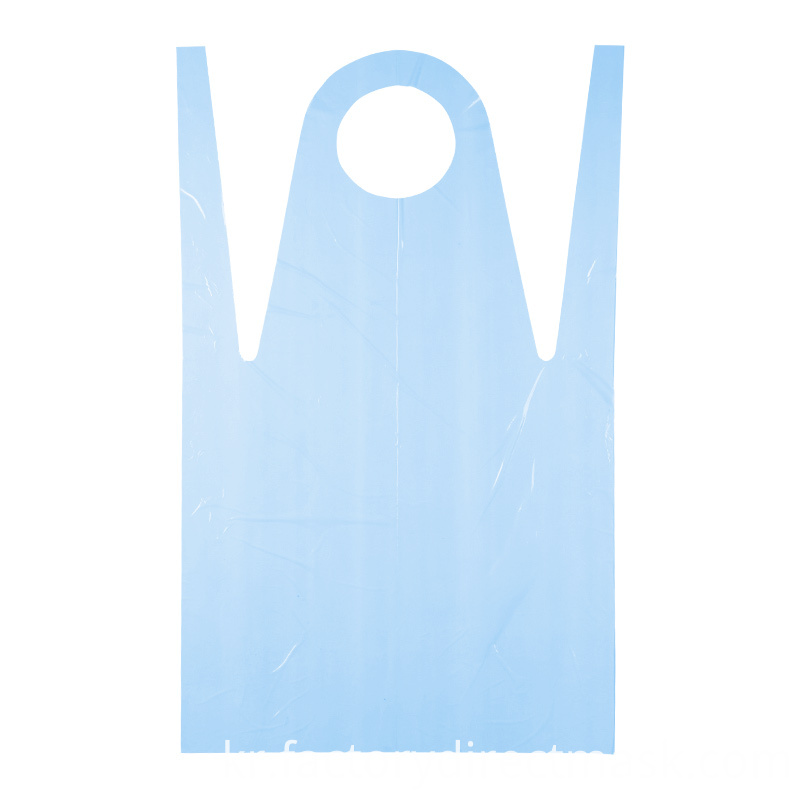 Factory Waterproof Plastic PE Disposable Medical Apron